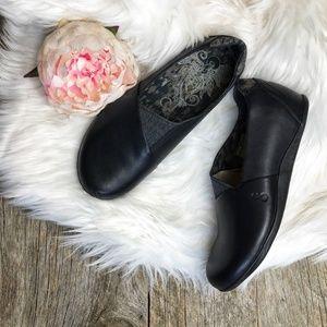 Ahnu Tola Leather Slip-Ons (Runs 1/2 Small)